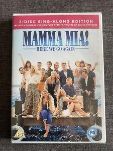 Mamma Mia! Here We Go Again NEW SEALED DVD