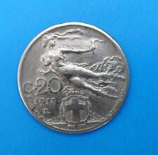 ITALIEN 20 CENTESIMI 1913