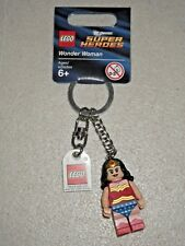 Brand New Lego 853433 Super Heroes DC Universe Wonder Woman Keychain - Ages 6+