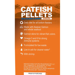 3-lbs OMEGA ONE CATFISH SINKING PELLET, FREE 12-Type Ultra Pellet Blend Included