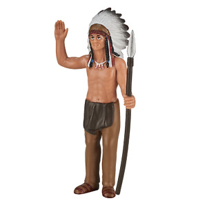 .Mojo NATIVE AMERICAN INDIAN CHIEF figure toys play model plastic figurine NEW