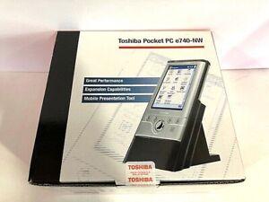 Toshiba e740-NW Pocket PC Brand New Sealed by Toshiba PA3170U-1PO5 READ