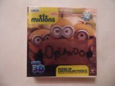 Minions Super 3D Lenticular Jizsaw Puzzle 150 Pieces Movie Exclusive NEW SEALED!