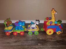 Fisher Price Amazing Animals Sing & Go Choo Choo Train w/ Bonus Cars Retired!