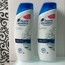 Shampooing antipelliculaire Head & Shoulders Classic - 2 x 580 ml