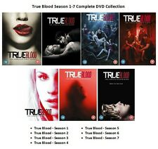 TRUE BLOOD COMPLETE SERIES 1 2 3 4 5 6 7 DVD COLLECTION ALL EPISODES SEASON NEW