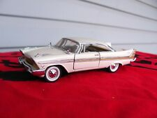 New ListingTan 1957 Plymouth Fury by Franklin Mint 1:43 scale in box
