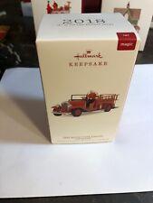 1932 Buick Fire Engine Brigade 2018 Hallmark Keepsake Christmas Ornament