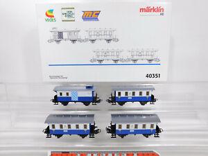 CR655-1# Märklin H0/AC 40351 Personenwagen-Set Bayerischer Personenzug, NEUW+OVP