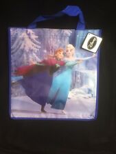 DISNEY PRINCESS REUSABLE TOTE FROZEN ANNA & ELSA WINTER FAVOR TREAT GIFT BAGS