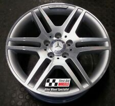 "MERCEDES C CLASS W204 1 X 17"" AMG GENUINE DIAMOND CUT REAR ALLOY WHEEL (S220A)"