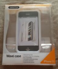 Griffin Wave Case for iPhone 3g White 6250-ip2wvw (1st class p+p)