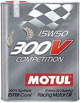 OLIO MOTUL 300V COMPETITION 15W50 LITRI 2