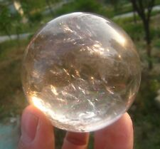 370g A++ Nature Polished Quartz Crystal Sphere ball A2#