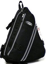Messenger Sling Body Bag Backpack BLACK Day Bag Shoulder Cross Body Hiking 303