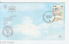 Israel Nr.   1050  FDC  Meteorologischer Dienst