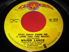 MAJOR LANCE 45 - STAY AWAY FROM ME / GYPSY WOMAN  VG+
