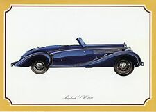 Poster DINA4 Oldtimer Maybach SW Modell 1934 Alter unbekannt classic car