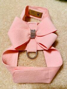 Susan Lanci Nouveau Bow Tinkie Crystal Dog Harness XS