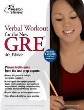 Verbal Workout for the New GRE, 4th Edition (Graduate School Test Preparation)
