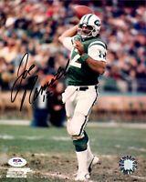 Joe Namath autographed signed 8x10 photo New York Jets PSA COA Broadway Joe