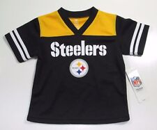 NWT Kids Pittsburgh Steelers Jersey NFL Team Apparel Toddler Size 2T