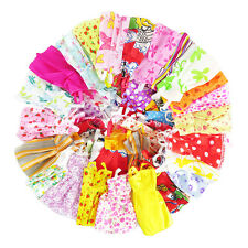 3 Pcs Doll Dress Cloth Fashion Style For 11 inch Doll Toy Kids Gift Random Color