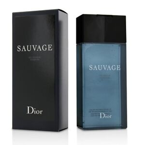 NEW Christian Dior Sauvage Shower Gel 200ml Perfume