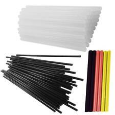6 pacchi stick colla a caldo 7,2 11 mm trasparente bricolage confezione nero
