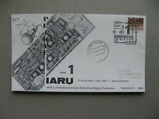 NETHERLANDS, ill. event cover 1987, IARU conference, amateur radio union