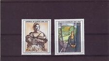 ITALY - SG1949-1950 MNH 1986 ANNIVERSARIES OF ITALIAN ARTISTS - 12th SERIES