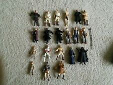 STAR WARS ACTION FIGURES  X 20 USED