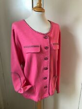 Lebek Ladies 100% Cotton Jacket Size 18 NWOT RRP £99 Only £10!