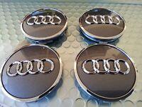 Audi OEM 2017-2021 Grey Alloy Wheel Center Hub Cap 8W0601170 JG3 61mm 🇺🇸