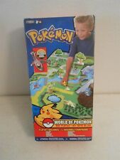 Pokemon World of Pokemon Mat Playset HTF JAKKS Sealed/Unopened w/Figure
