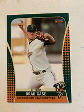 Brad Case 2019 Greensboro Grasshoppers Team Card