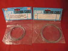 HURET / SIMPLEX / CYCLO COMPATIBLE GEAR INNER CABLE SET - PAIR OF CLARK`S W-5057