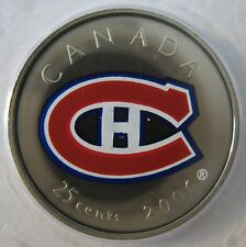 2006 - 25-cent - NHL - Montreal Canadiens - NBU - Original Sealed - One Coin