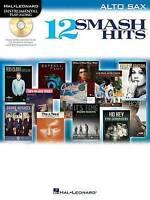 Hal Leonard Instrumental Play-Along 12 Smash Hits Pop Alto Sax Book CD Easy S132