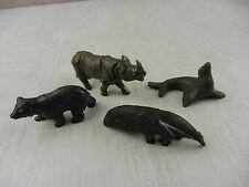 Lot d'anciennes figurines zoo, Clairet, ancienne série