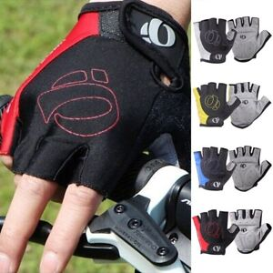 Half Finger Cycling Gloves Anti-Slip Anti-sweat Gel Bicycle Riding padded soft