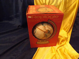 "Replogle 9"" World Globe With Box"