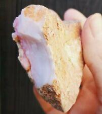 Prized 480 ct Genuine Peru Angel Skin Pink Opal Raw Rough Specimen 94 Grams 75mm