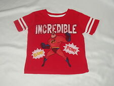 THE INCREDIBLES disney/pixar unisex child Mr. Incredible SHIRT top  Size 4T