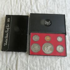 USA 1978 s 6 COIN PROOF YEAR SET WITH DOLLAR - sealed/outer