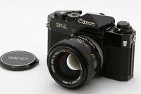 Canon F-1 35mm SLR Film Camera w/ FD 55mm f/ 1.2 S.S.C From JAPAN *EXC+++* #603