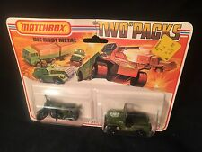 Matchbox TP-11 VERY RARE - Two Pack  Jeep & Motor Cycle 1970's