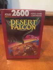 Desert Falcon Atari 2600 & Atari 7800 Compatible Video Game 1988 NIB NIP