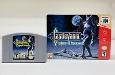 Castlevania: Legacy of Darkness N64 (Nintendo 64, 1999) FAST SHIPPING!