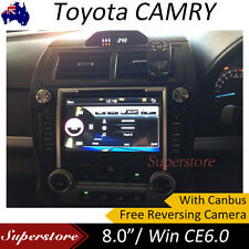 """8"""" GPS Car DVD Player For 2012 - 2016 Toyota CAMRY Altise Atera Sportivo"""